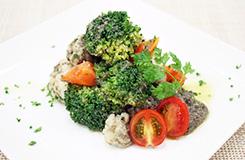 色々野菜のタプナードソース